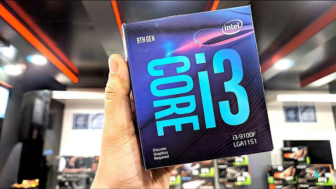 CPU Core i3 9100f