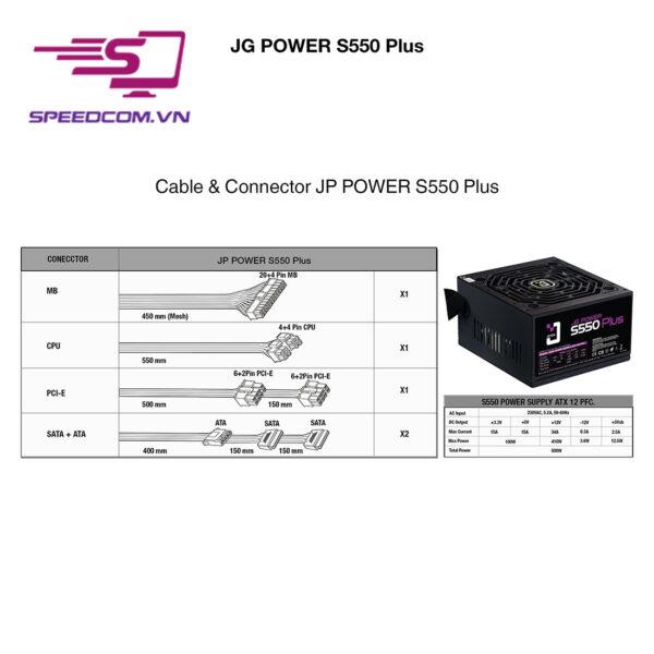 Nguồn Jetek S550plus Speedcom