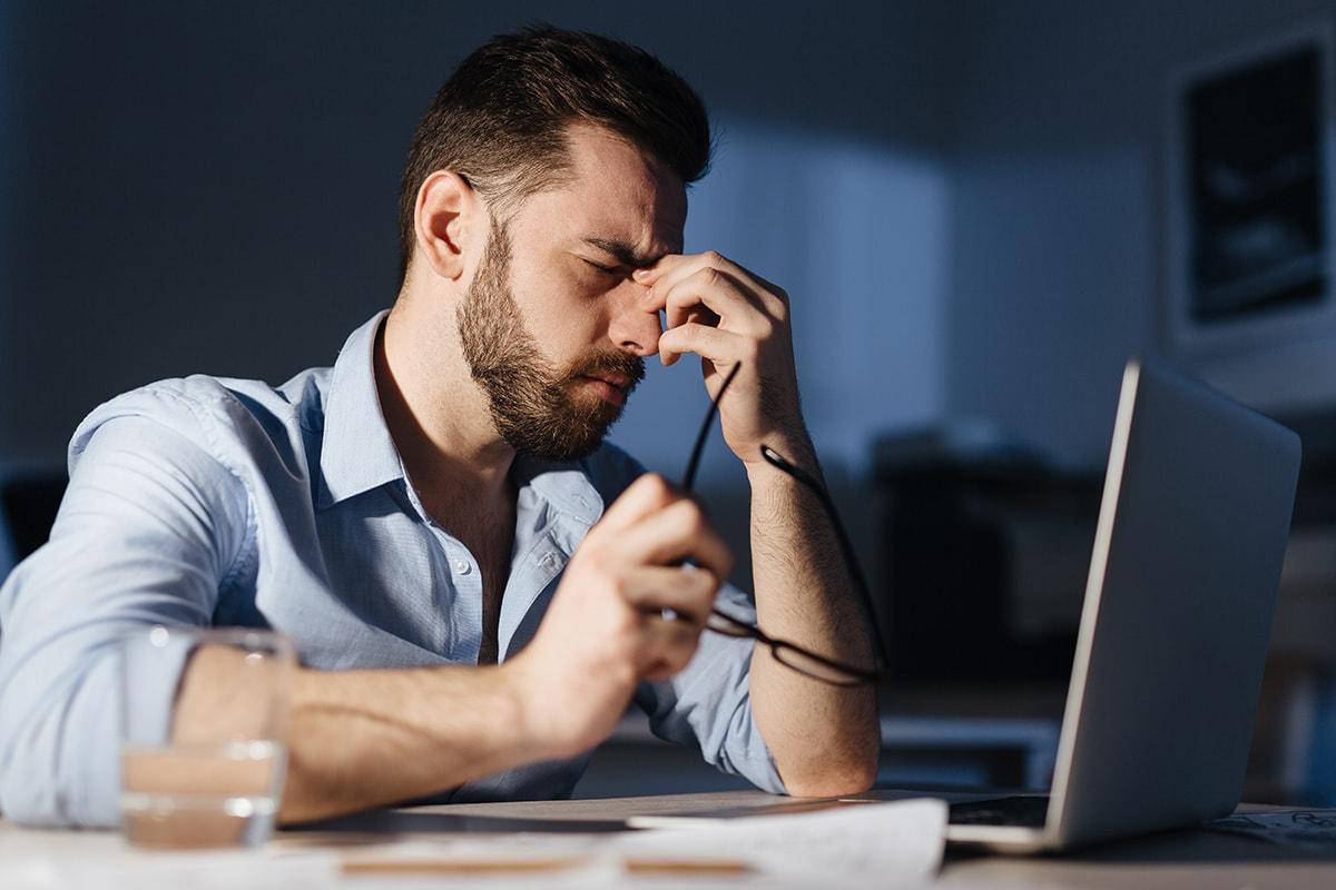 màn hình máy tính không hại mắt