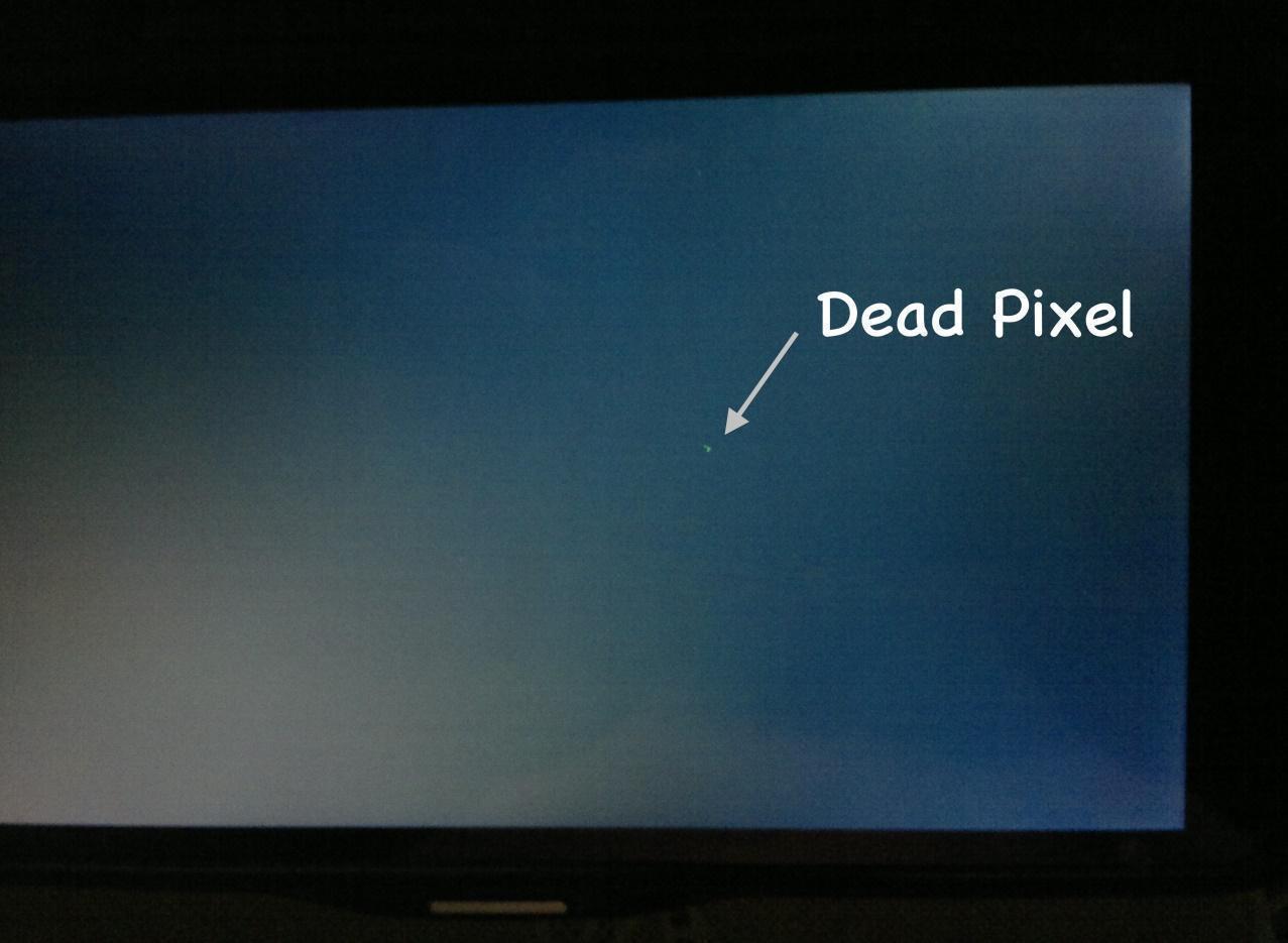Điểm chết trên màn hình