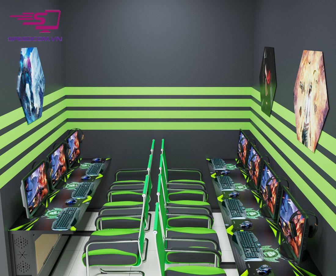cyber game VIP 100 máy