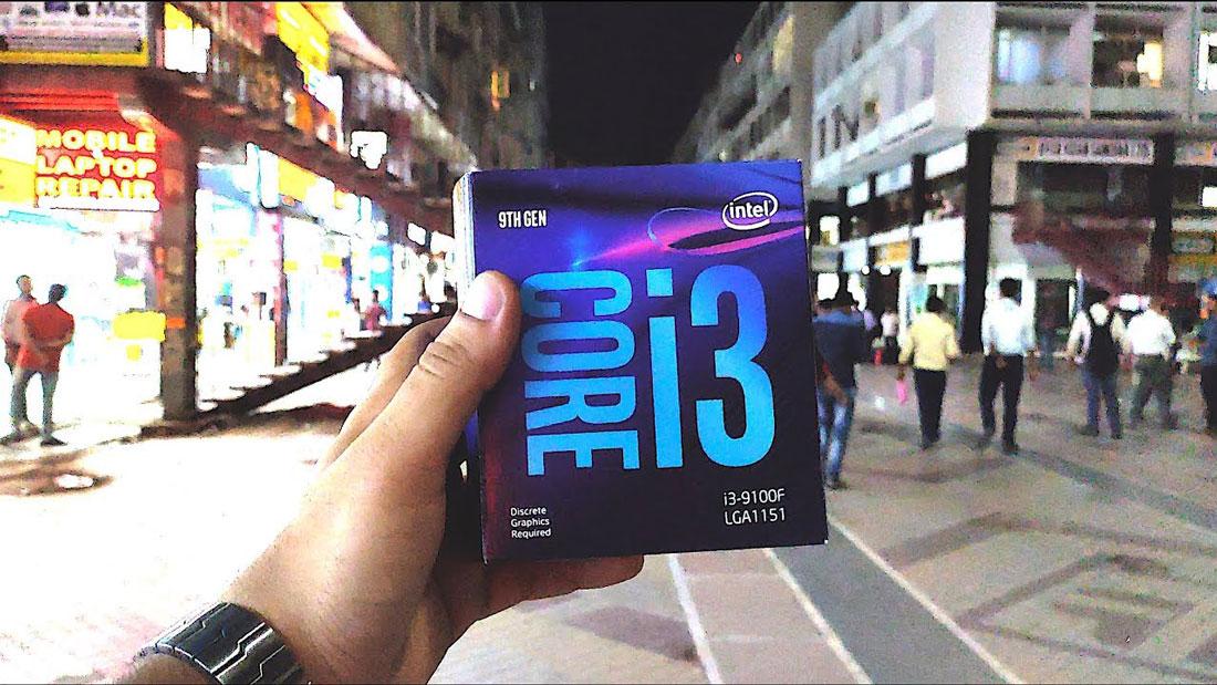 CPU Intel i3-9100