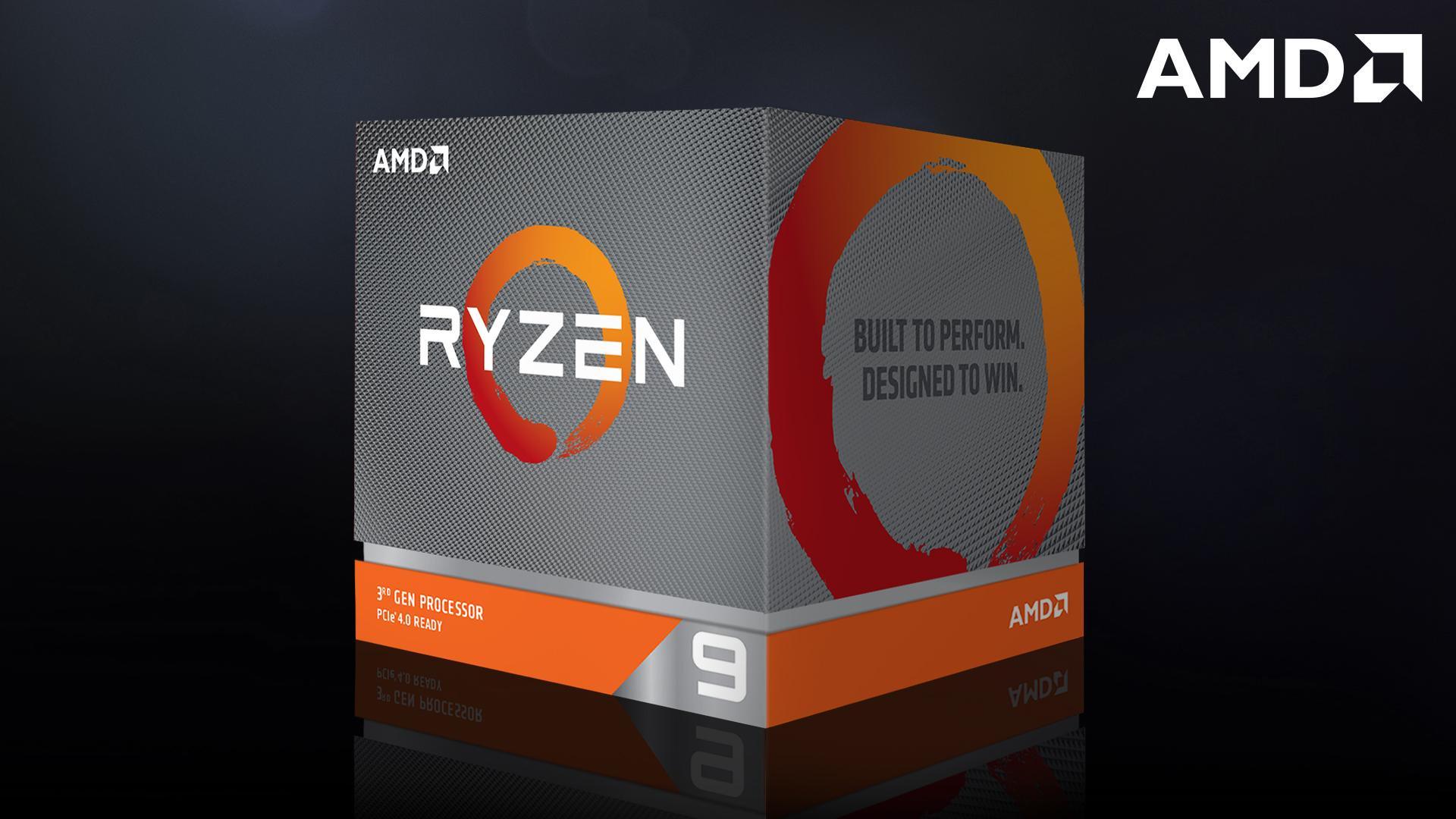 CPU AMD Ryzen 9 3900