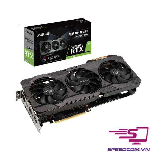VGA ASUS TUF Gaming GeForce RTX 3070 OC 8G
