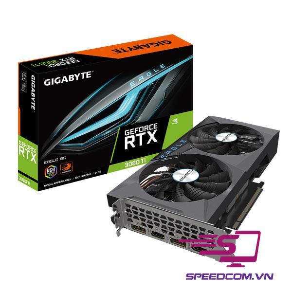 VGA GIGABYTE GeForce RTX 3060 Ti EAGLE 8G