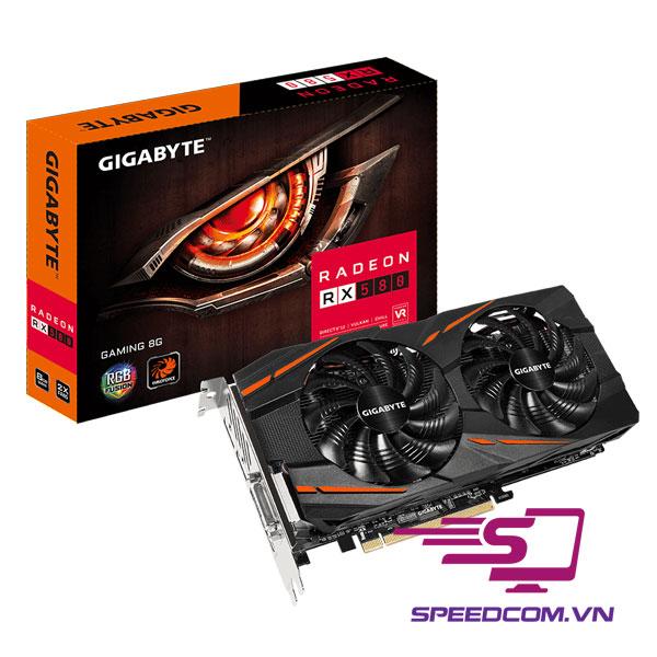 VGA Gigabyte Radeon RX 580 Gaming 8G