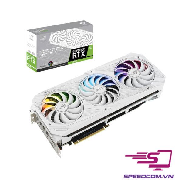 VGA ASUS ROG STRIX GeForce RTX 3090 O24G WHITE GAMING