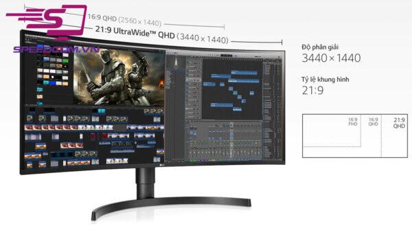 màn hình LG 34WN80C-