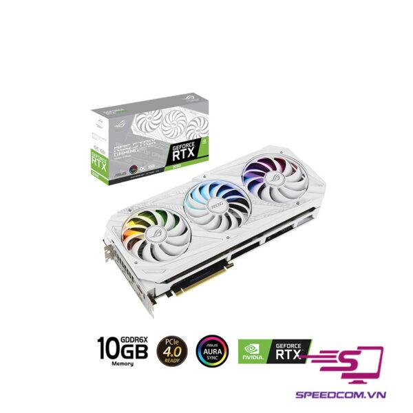 VGA ASUS ROG STRIX GeForce RTX 3080 10G White GAMING
