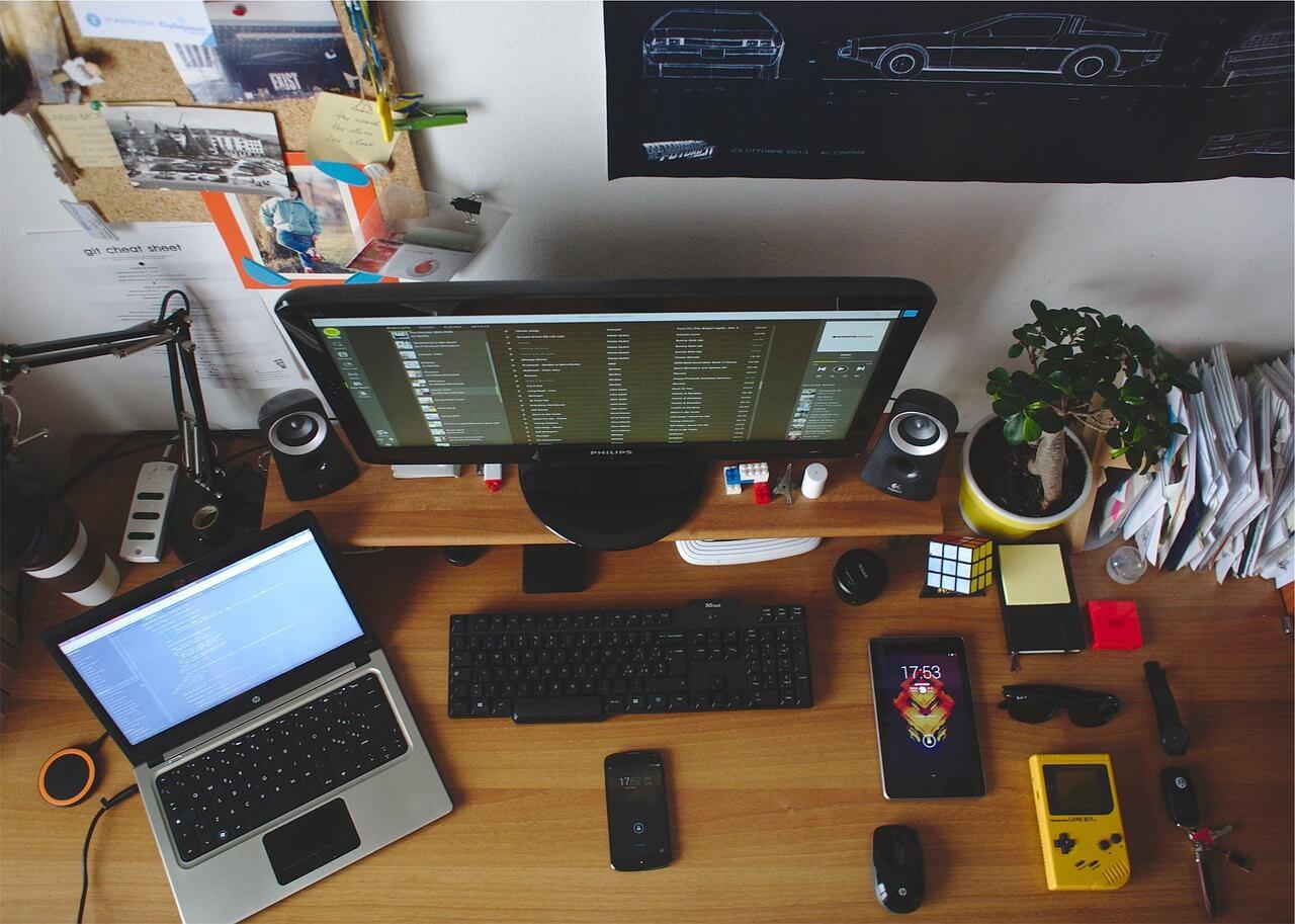 môi trường lắp đặt case PC văn phòng