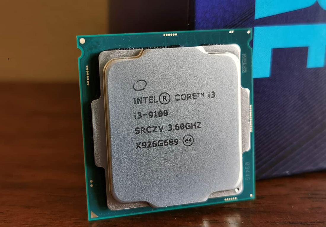 Core i3 9100