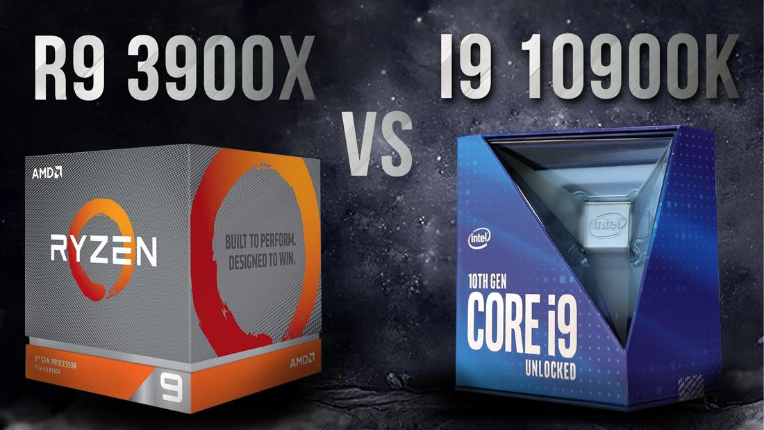Core i9 10900K vs Ryzen 9 3900X