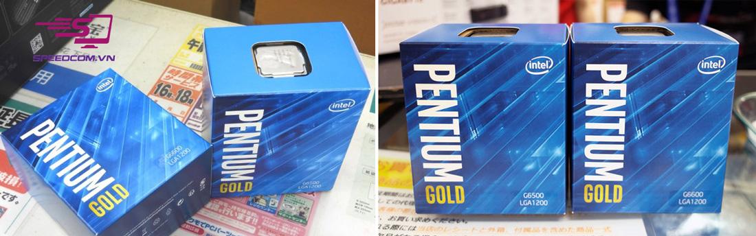 Intel Pentium Gold G6500 và G6600