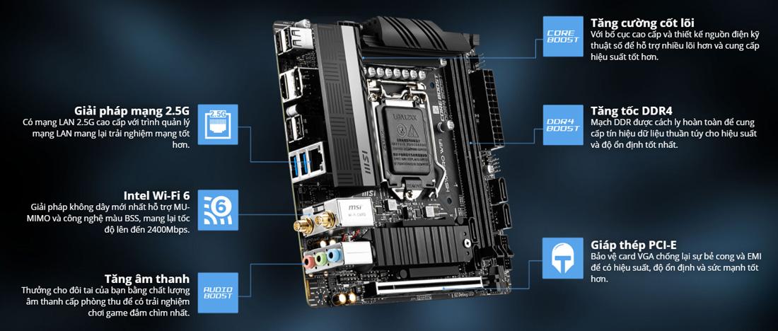 Mainboard MSI H510M Pro