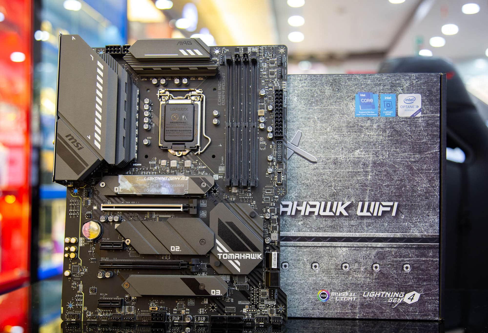 Maniboard z590 CPU Intel LGA 1200