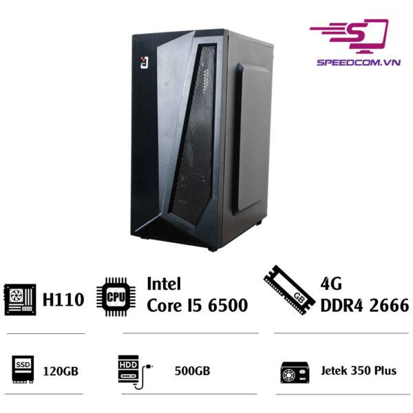 PC văn phòng Main H110 - CPU I5 6500 - Ram 4G