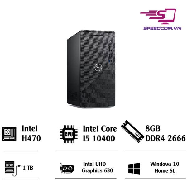 Máy tính Dell INS3881MT MTI52051W-8G-1T